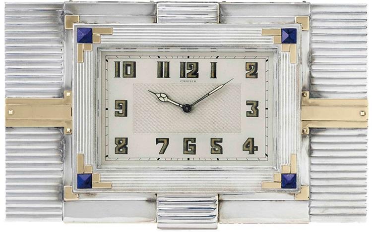 5 magnificent Cartier desk clo auction at Christies