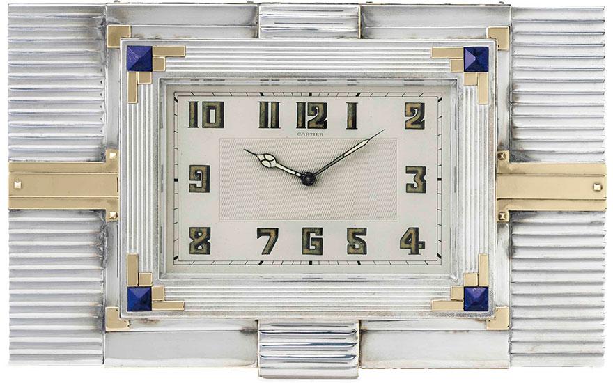 5 magnificent Cartier desk clo