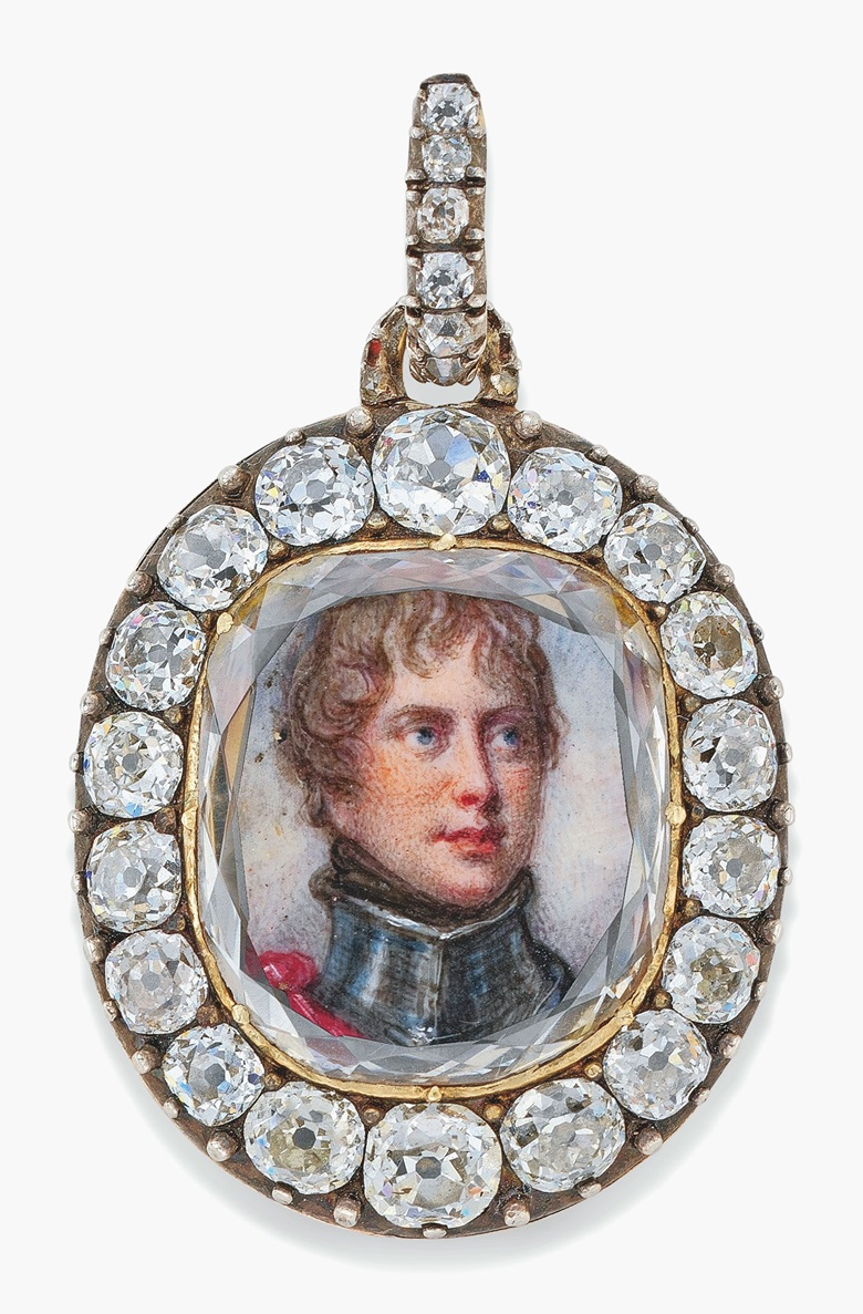 The Maria Fitzherbert jewel. Estimate £80,000-120,000  $110,000-150,000. This lot is offered in The Exceptional Sale on 6 July 2017 at Christie's in London