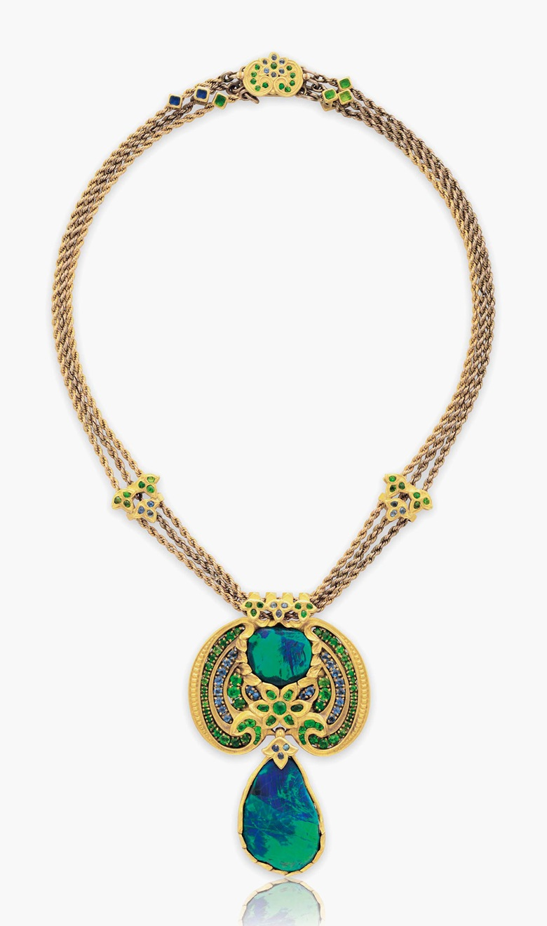 The Exotic Jewels Of Louis Comfort Tiffany Christie S