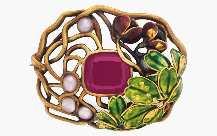 The exotic jewels of Louis Com auction at Christies