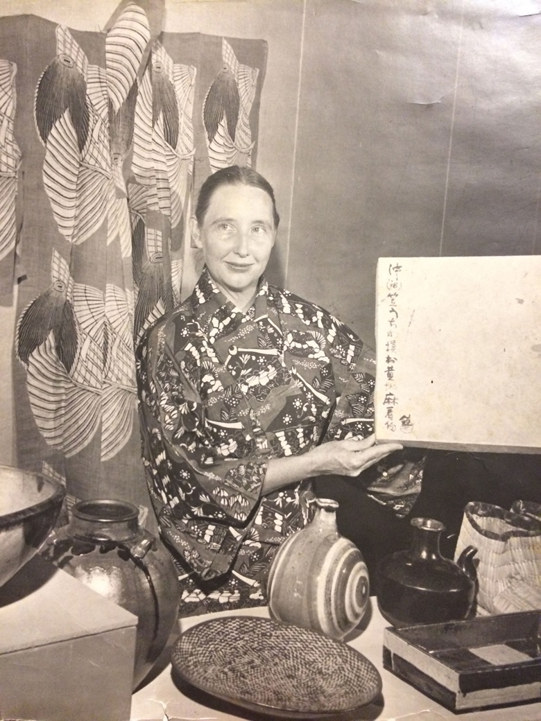 Martha Longenecker in Japan. Photo courtesy Martha Longenecker Estate