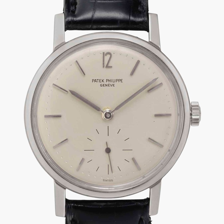 Patek Philippe. A fine and rare stainless steel antimagnetic wristwatch. Signed Patek Philippe, Genève. Ref. 3417. Movement No. 732084. Case No. 2627942. Manufactured in 1962. Estimate $20,000-30,000. This lot is offered in Rare Watches and American Icons on 21 June at Christie's in New York