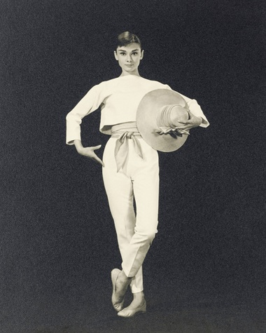 Funny Face, 1957 Bud Fraker (1916-2002), Audrey Hepburn, circa 1956. Sheet 13 ¾ x 10 ¾  in (34.9 x 27.3  cm). Estimate £1,000-1,500. This lot is offered in Audrey Hepburn The Personal Collection on 27 September 2017  at Christie's in London