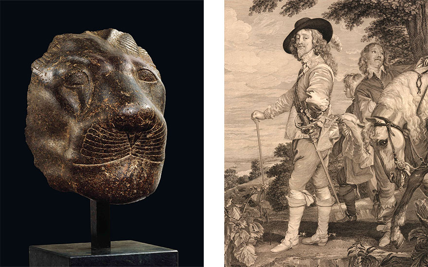 From a pharaoh's protector to Charles I's stirrups 5 centuries-old lots with links to royalty