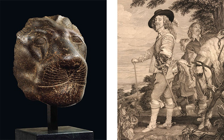 From a pharaoh's protector to  auction at Christies