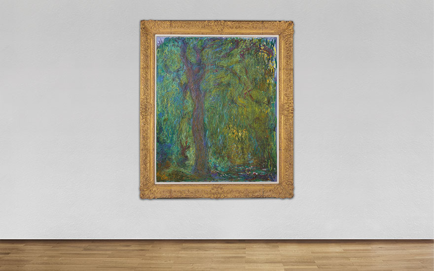 A symbol of hope and defiance — Saule pleureur by Monet