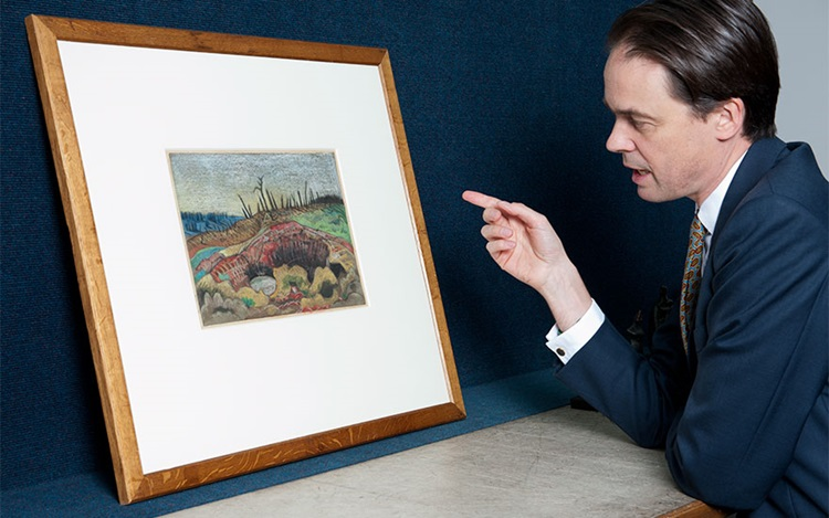 5 minutes with... A Paul Nash  auction at Christies