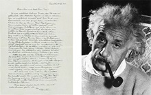 Time's arrow: Albert Einstein' auction at Christies