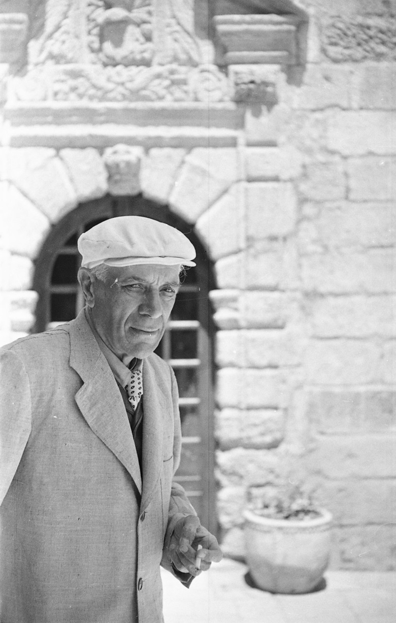 Georges Braque, photographed by John Stewart. Photo © John Stewart