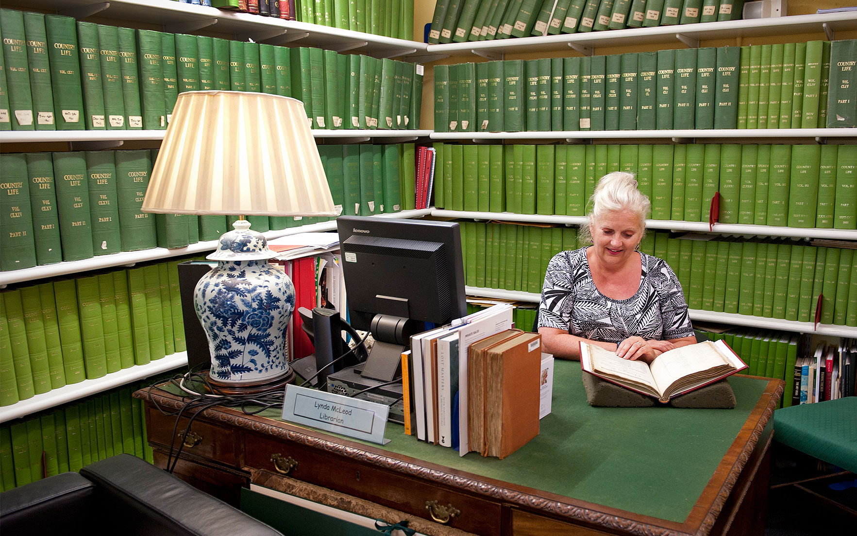 Lynda McLeod, Head Librarian