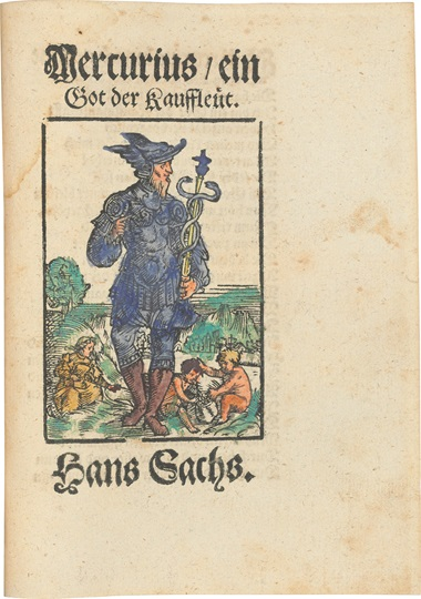Extremely rare Reformation pamphlets, the majority by German Meistersinger, poet, dramatist and cobbler, Hans Sachs. Germany 1544-1554. This lot was offered in Valuable Books and Manuscripts on 12 July 2017 at Christie's in London, King Street