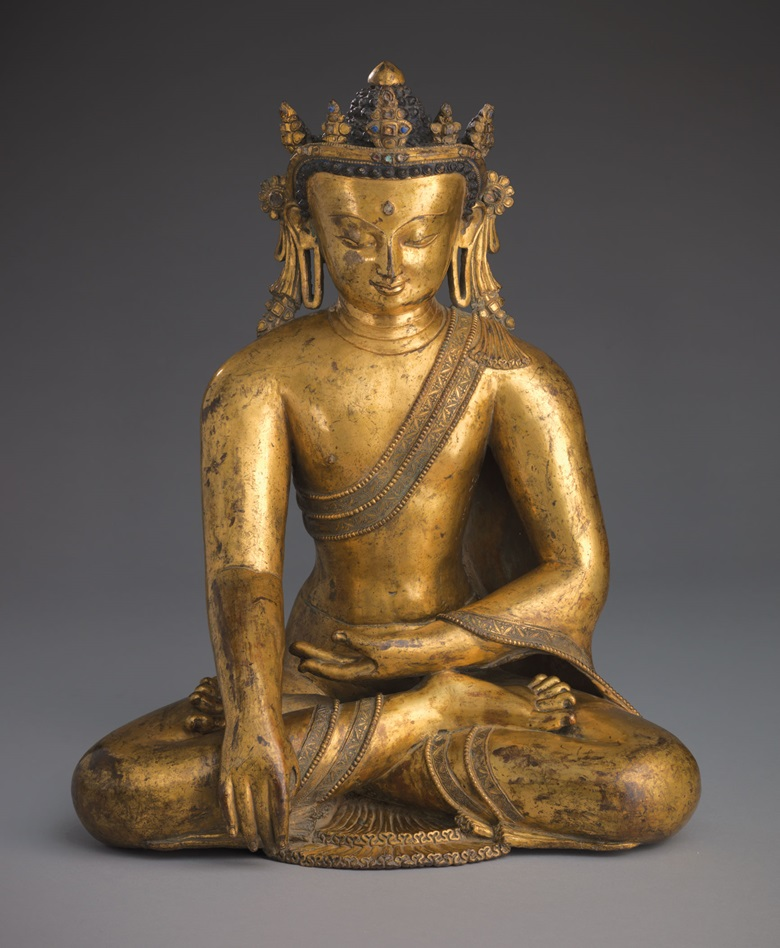 A large and important gilt bronze figure of Buddha. Nepal, 13th14th century. 51 cm high. Estimate $600,000-800,000. This lot is offered in Indian, Himalayan and Southeast Asian Works of Art on 13 September at Christie's in New York