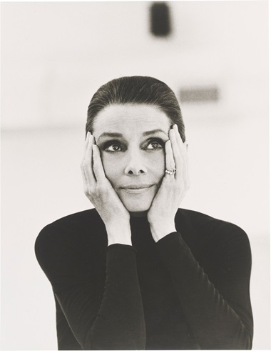 Steven meisel (b. 1954), Audrey Hepburn, Vanity Fair, May 1991. Imagesheet 13⅞ x 10 ½  in (35.2 x 26.7  cm). Estimate £2,000-3,000. This lot is offered in Audrey Hepburn The Personal Collection on 27 September 2017  at Christie's in London