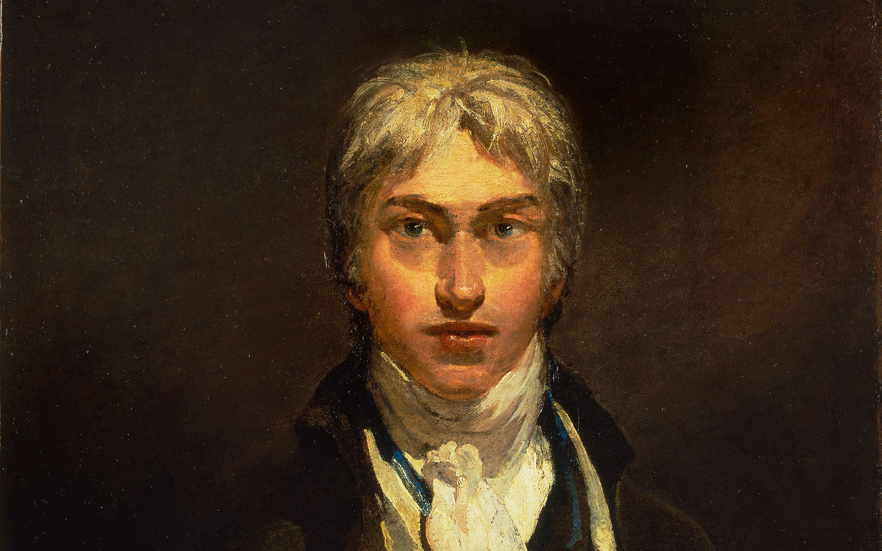 Joseph Mallord William Turner, Self-Portrait, circa 1799 (detail). Photo © Tate, London 2017