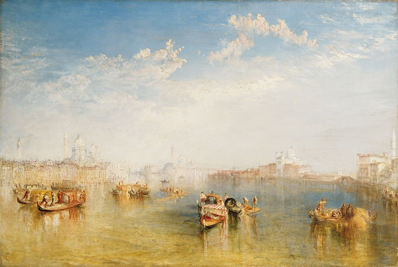 Joseph Mallord William Turner, R.A. (1775-1851), Giudecca, La Donna della Salute and San Giorgio. Oil on canvas. 24 x 36 in (61 x 91.5 cm). Sold for $35,856,000 on 6 April 2006 at Christies in New York