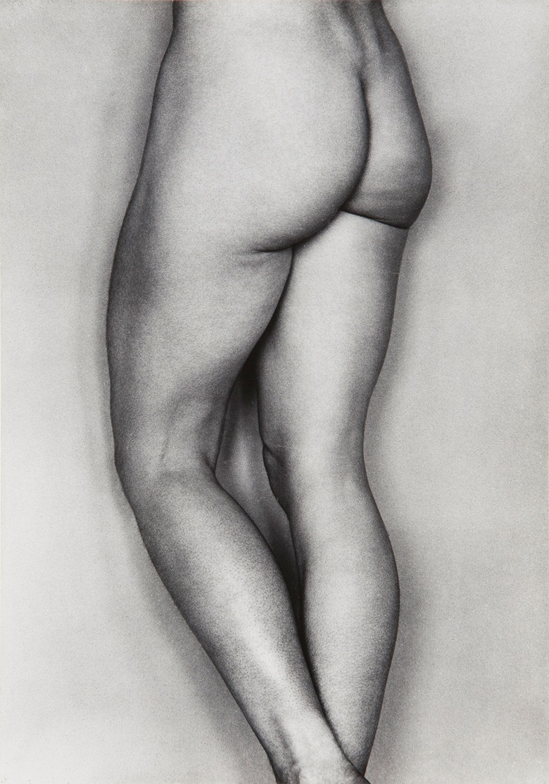 Edward Weston (1886-1958), Nude (Bertha, Glendale), 1927. Gelatin silver print, mounted on board, printed c. 1953 by Brett Weston. Estimate $40,000-60,000. This work is offered in Photographs on 10 October at Christie's in New York © 2017 Center for Creative Photography, Arizona Board of Regents  Artists Rights Society (ARS), New York