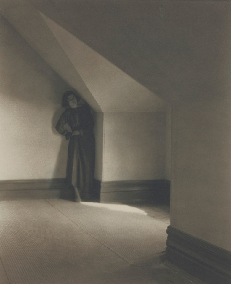 Edward Weston (1886–1958), Betty in Her Attic, 1920. Mount 18 x 14  in (45.7 x 35.5  cm). Estimate $600,000-900,000. This lot is offered in Important Photographs from the Collection of Donald and Alice Lappé on 10 October 2017  at Christie's in New York. © 2017 Center for Creative Photography, Arizona Board of Regents  Artists Rights Society (ARS), New York