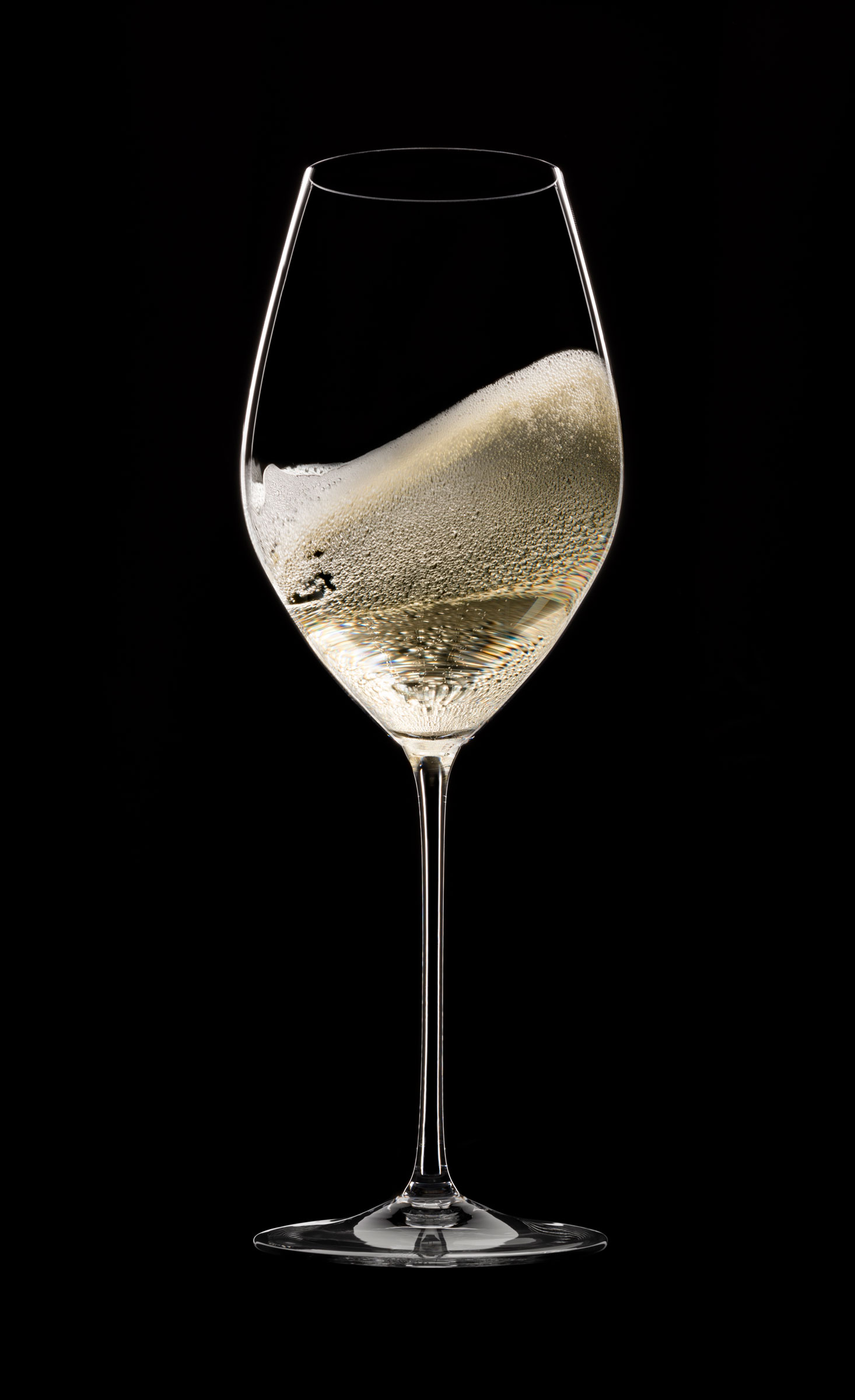 Wine Glass With Wine Part - 49: Experts Now Favour A More Traditional, White-wine-glass Shape For Sipping  Champagne