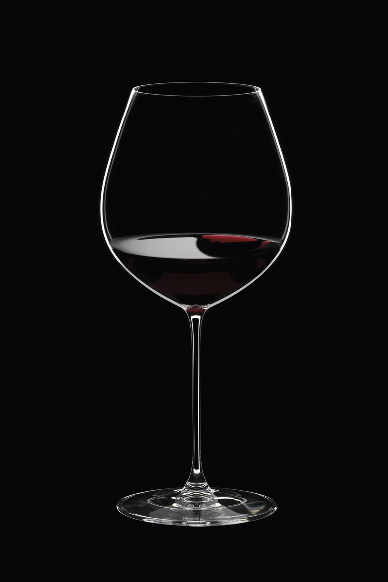 For a red Burgundy, this Old World Pinot Noir glass from Riedel is designed to deliver the best possible taste
