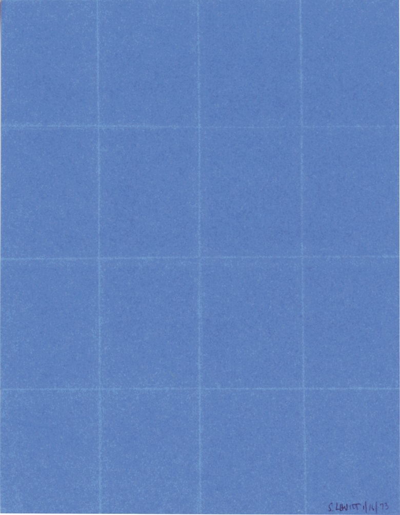 Sol LeWitt (1928-2007), Folded Paper, 1973. 8 x 6¼  in (20.3 x 15.9  cm). Estimate $12,000-18,000. This lot is offered in Post-War & Contemporary Art on 28 September 2017  at Christie's in New York