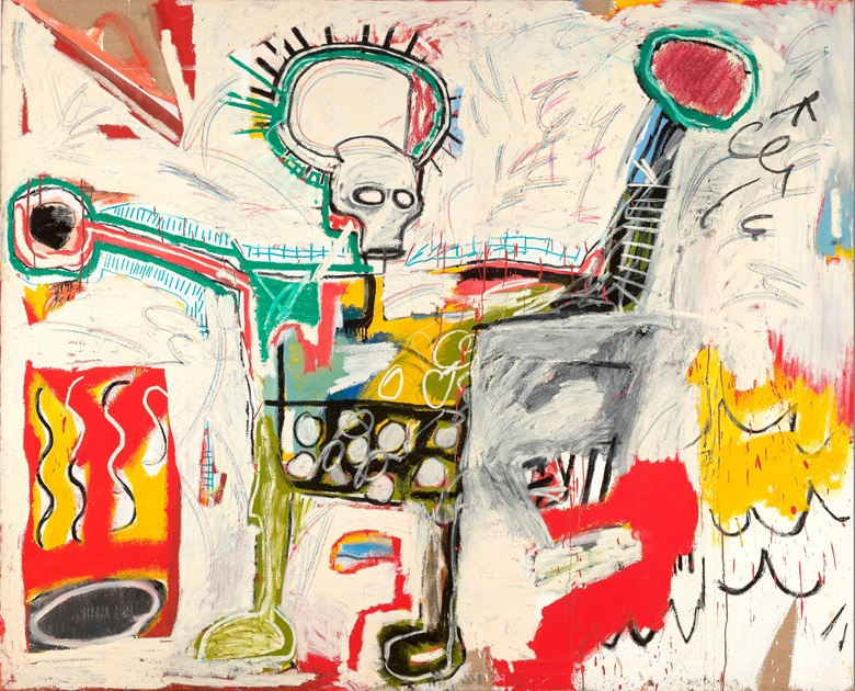 Jean-Michel Basquiat, Untitled, 1982. Courtesy Museum Boijmans Van Beuningen, Rotterdam © The Estate of Jean-Michel Basquiat. Licensed by Artestar, New York. Photo Studio Tromp, Rotterdam
