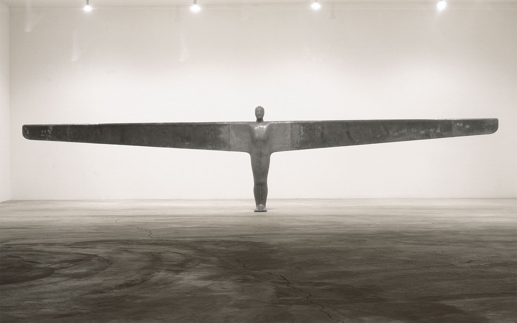 Antony Gormley (B. 1950), A Case for an Angel I, 1989. 77½ x 337¾ x 18⅛ in (197 x 858 x 46 cm). Estimate £5,000,000-7,000,000. This lot is offered in Post-War and Contemporary Art