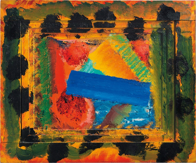 Howard Hodgkin (1932-2017), Goodbye to the Bay of Naples, 1980-1982. 22 x 26⅜ in (55.9 x 66.9 cm). Estimate £400,000-600,000. This lot is offered in Post-War and Contemporary Art Evening Auction on 6 October 2017  at Christie's in London
