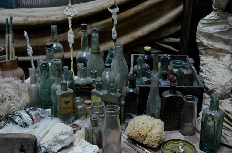 The team worked closely with the Giacometti Foundation, including visiting its vault in Saint-Denis where the contents of his studio are packed away in labelled crates. Courtesy Vertigo Films