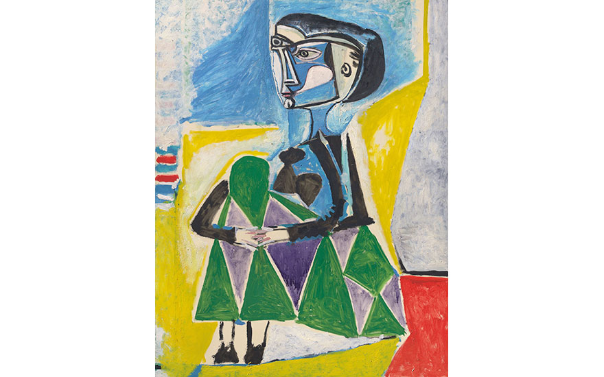 Picasso's Femme accroupie (Ja