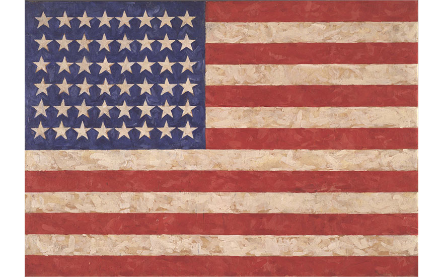 Jasper Johns: 'Something Resem