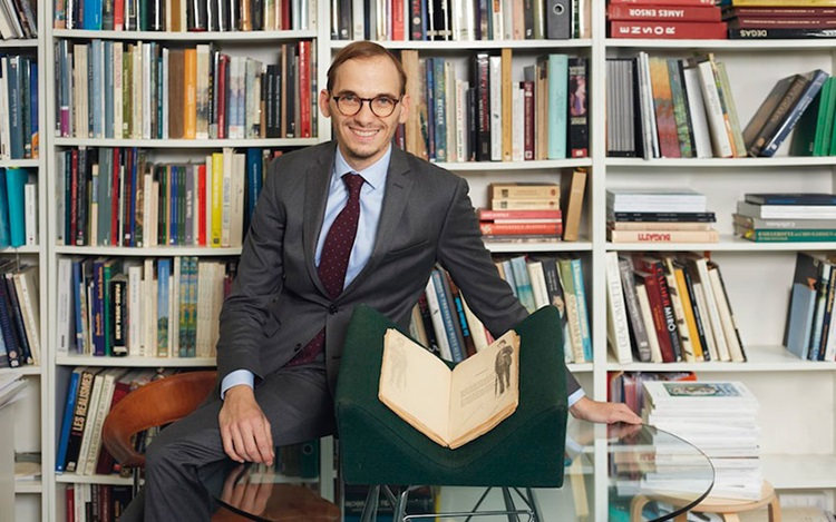 5 minutes with... A book of po auction at Christies