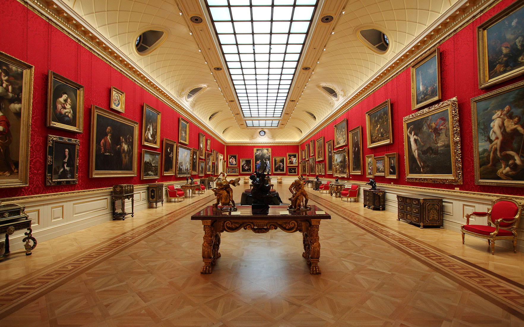Great Gallery, the Wallace Collection, London. Photo the Wallace Collection