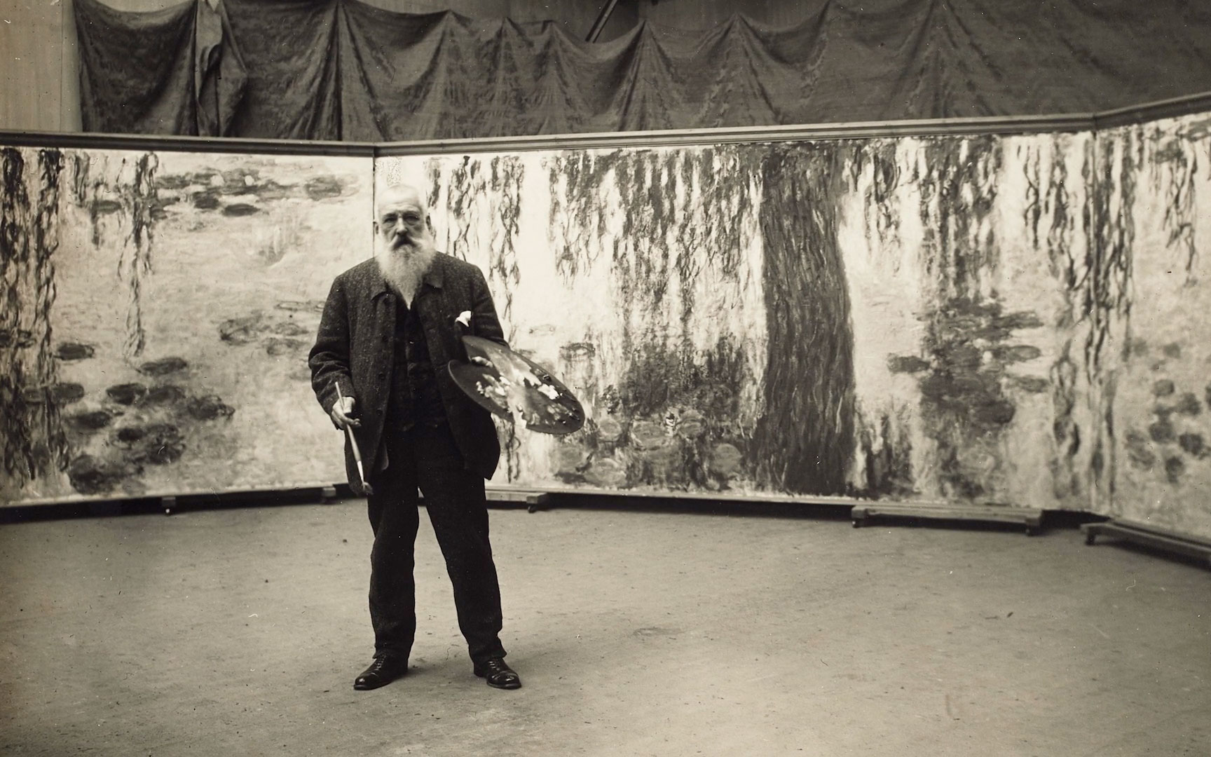 The art that Monet lived with