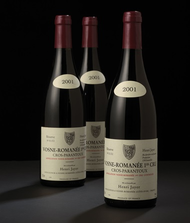 In August 2013, fine and rare wines from Dr Gordon Ku's Collection were offered in Hong Kong. The sale featured further examples of 'super provenance', such as 10 bottles of Henri Jayer, Vosne-Romanée 1er Cru Cros Parantoux 2001, which realised HK$427,000 against an estimate of HK$260,000-380,000