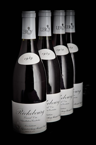 In our November 2015 sale, A Single-Owner Collection of Finest & Rarest Wines Direct from Octavian Vaults, this lot of six bottles of Maison Leroy, Richebourg 1959 realised HK$147,000 against an estimate of HK$110,000-140,000
