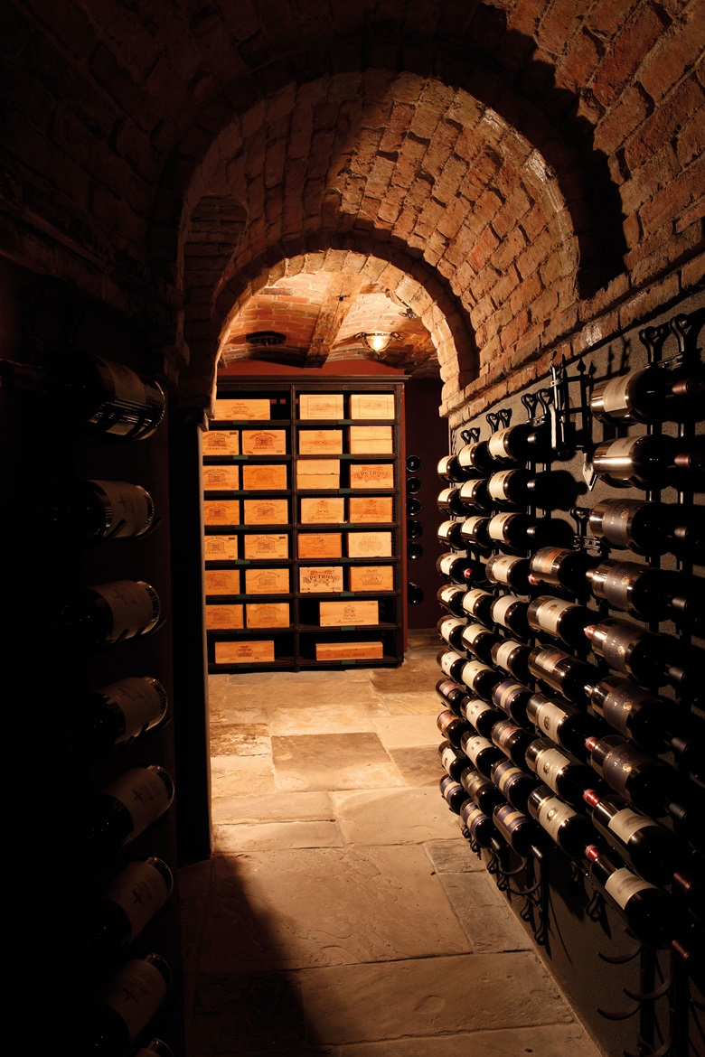 Wines develop character with age but in order to do so, they need to be stored in optimal conditions