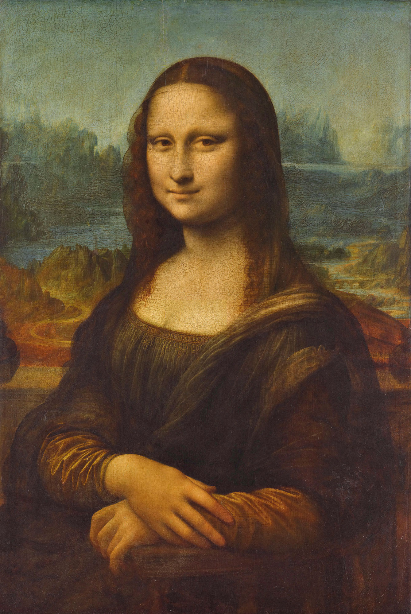 Leonardo da Vinci, Mona Lisa, circa 1502. Musée du Louvre, Paris. Photo Scala  Art Resource