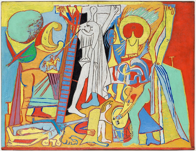 Pablo Picasso, The Crucifixion, 1930, oil on wood and plywood, Musée National Picasso-Paris. Photo © RMN-Grand Palais (Musée national Picasso-Paris)Mathieu Rabea. © Succession Picasso — gestion droits d'auteur. Christie's Paul Nyzam looks forward to the exhibition Picasso 1932, 10 October to 11 February 2018 at Musée Picasso Paris