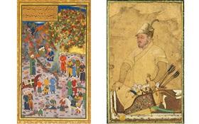 Persian miniature paintings