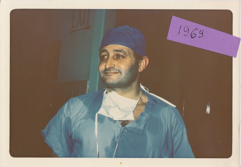 Dr Giuseppe Rossi, photographed in 1969. Courtesy of Mrs Gemma Rossi