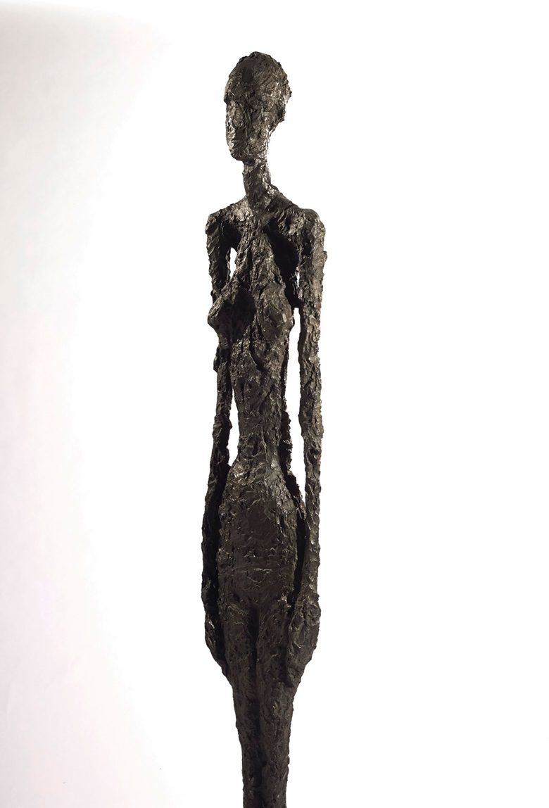 'Grand Femme II  is the largest and most balanced of Giacometti's largest works.' © The Estate of Alberto Giacometti (Fondation Annette et Alberto Giacometti, Paris and ADAGP, Paris), licensed in the UK by ACS and DACS, London 2017