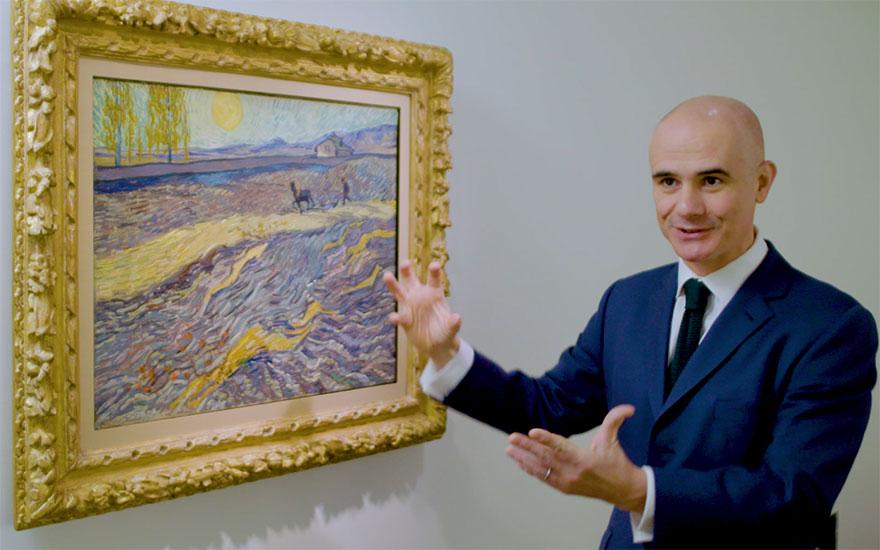 Vincent van Gogh's Laboureur d
