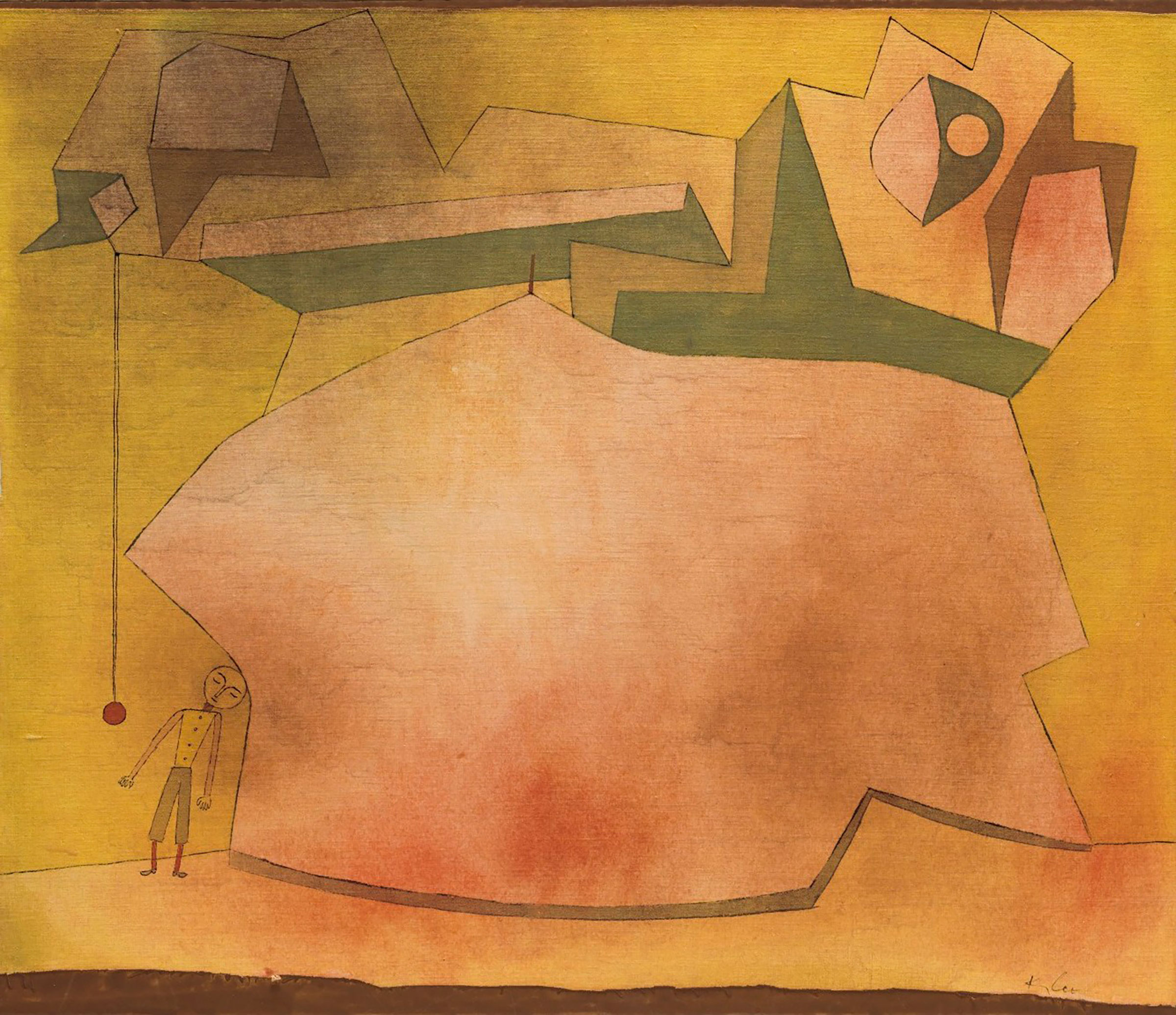 Paul Klee (1879-1940), Unerfülltes, 1930. Mount size 19⅝ x 25⅝  in (50 x 65.1  cm). Estimate $600,000-900,000. This lot is offered in the Impressionist and Modern Art Works on Paper Sale on 14 November 2017  at Christie's in New York