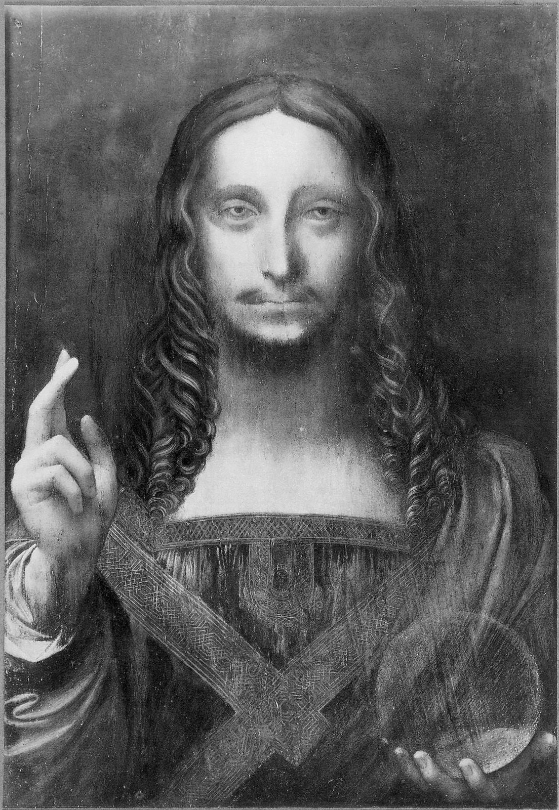 Salvator Mundi  in the Cook Collection