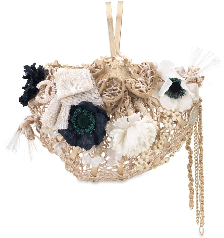 A limited edition Straw Bird Basket Bag with gold hardware. Chanel 2010. Estimate $6,000-8,000. This lot is offered in Handbags & Accessories from 22 November - 5 December, Online