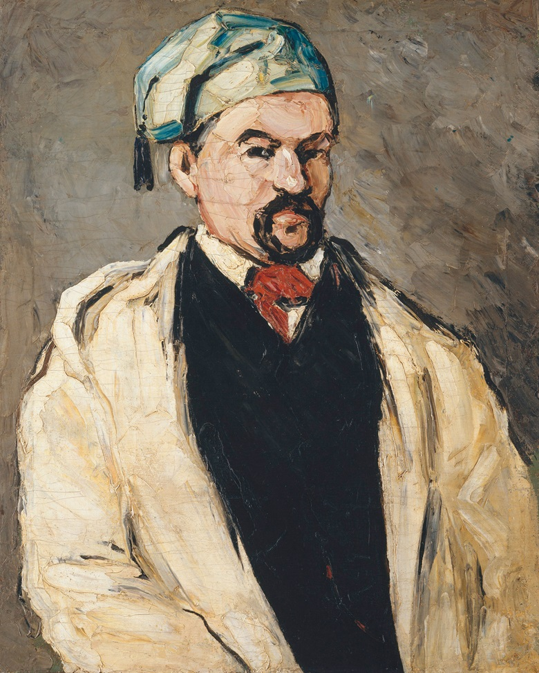 Paul Cézanne, Uncle Dominique in Smock and Blue Cap, 1866-87. Metropolitan Museum of Art, Wolfe Fund, 1951, acquired from The Museum of Modern Art, Lillie P. Bliss Collection