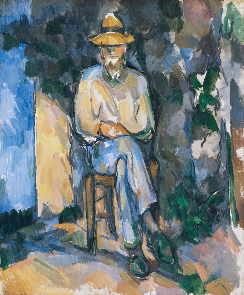 Paul Cézanne, The Gardener Vallier, 1905-06. Tate, London. Bequeathed by C. Frank Stoop 1933 © Tate, London 2017