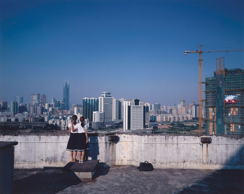 Weng Fen (1961), Birds Eye View — Guangzhou, 2005. Chromogenic photograph. Edition 510. 97.7 x 117.6 cm (38½ x 46¼ in). Estimate $2,000-3,000. This work is offered from 20-27 November in Asian Contemporary Art Online
