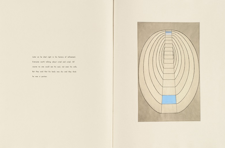 Louise Bourgeois (1911–2010), Plate 8 of 8 from the illustrated book the puritan, 1990. Engraving, with hand additions. Page 26 x 19⅞ in (66 x 50.5 cm). The Museum of Modern Art, New York. Gift of the artist. © 2017 The Easton FoundationLicensed by VAGA, NY.